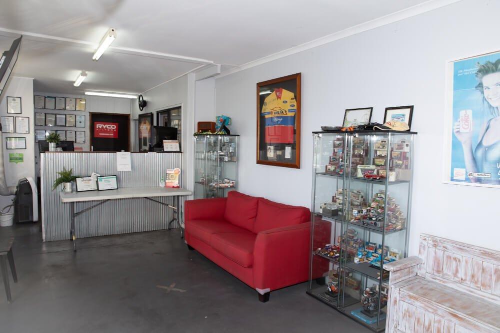 Reception Desk Australian Mechanical